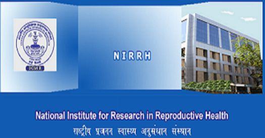 NIRRH Recruitment Library & Information Officer