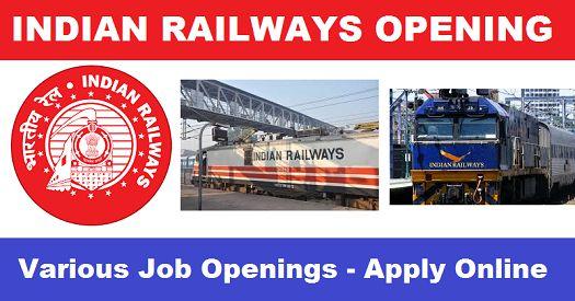 Indian Railway Vacancy 2018 — Gr D, Technician, ALP, Apprentices