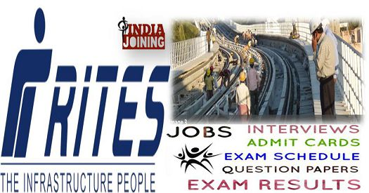RITES Ltd Merit List 2019