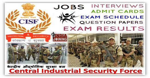 cisf head constable exam paper download