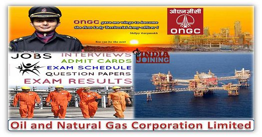 Recruitment of Executives at E1 level in ONGC 2019