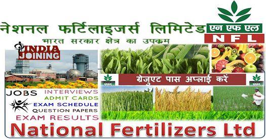 National Fertilizers Limited Management Trainees Exam Syllabus 2019