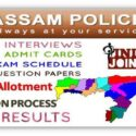 Assam Police Jobs 2020 Constable, Fireman, Emergency Rescuer, Sub-Officer