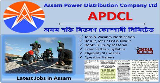 APDCL Online Form 2018