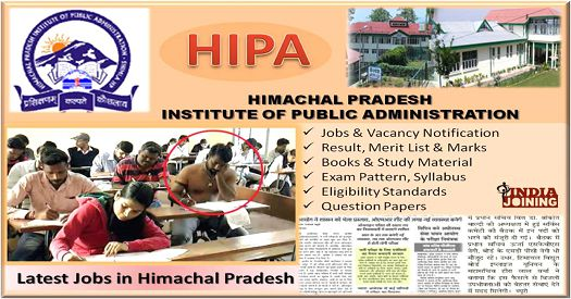 Himachal Pradesh Institute Of Public Administration Exam Papers Download
