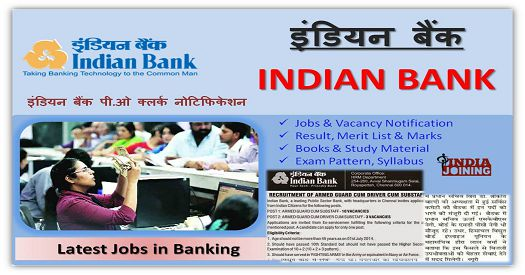 Indian Bank PO Recruitment 2018