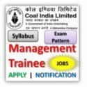 Coal India Ltd Recruitment Management Trainee 2020