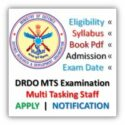 DRDO MTS Recruitment 2020