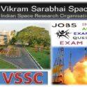 Vikram Sarabhai Space Centre Technician Recruitment 2019