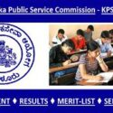 KPSC Recruitment Result 2020 Select List