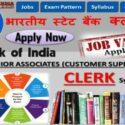 SBI Clerk 2020 Exam Pattern, Syllabus, Admit Card
